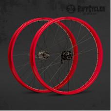 """koleso predné 26"""" 65mm Red"""