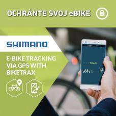 PowUnity GPS Tracker pre motory SHIMANO