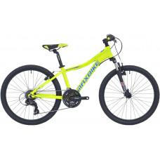 Maxbike Pindos 24 / žltý reflex + modrá a zelená