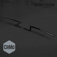 Riadidlá Ruff-Cycles Z-Dragbar CrMo čierne
